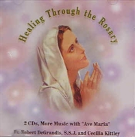 <br>10% off! Healing through the Rosary CD - Fr. Robert DeGrandis with Cecilia Kittley