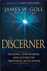 <BR> FREE SHIPPING!  THE DISCERNER: HEARING, CONFIRMING AND ACTING ON PROPHETIC REVELATION - JAMES GALL