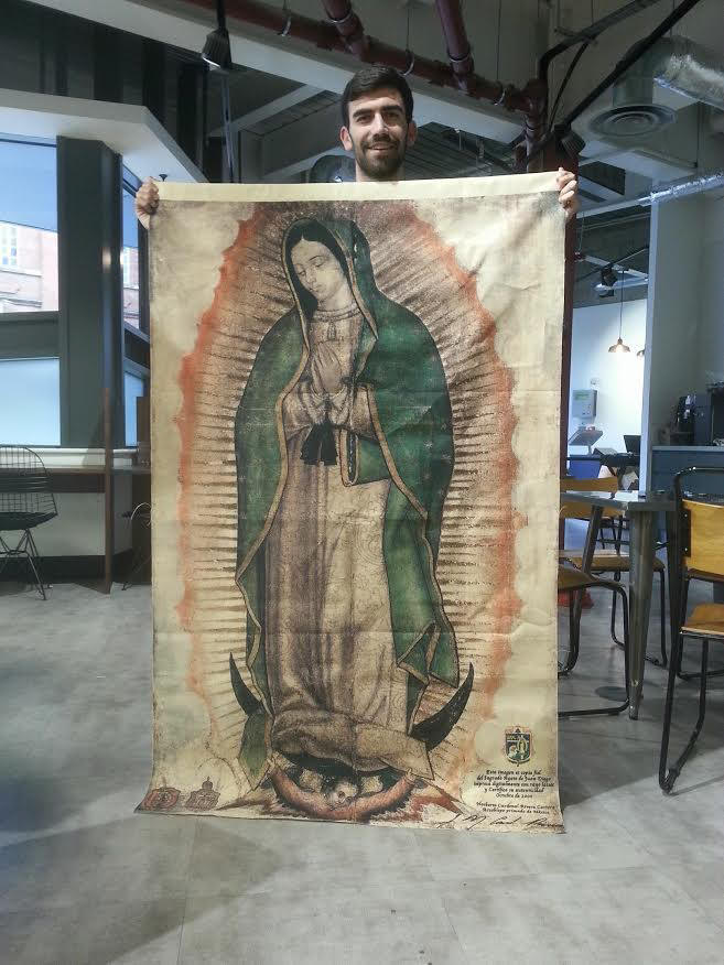Br Free Shipping In The U S Our Lady Of Guadalupe Tilma