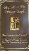 <br> MY SAINT PIO PRAYER BOOK - PADRE PIO FOUNDAITON