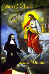 <br> NEW!  SACRED HEART, LOVE DIVINE - SLAVES OF THE IMMACULATE HEART OF MARY